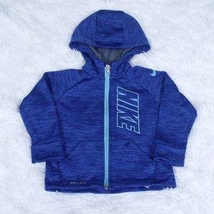 Nike Dri-Fit Zip Up Hoodie Jacket 18M